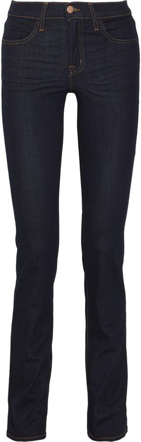 J Brand 231 high-rise straight-leg jeans