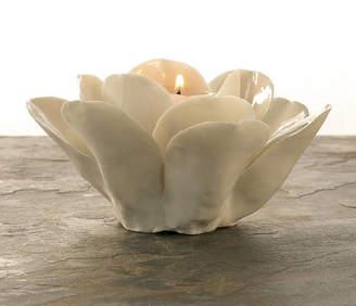 Ella James Porcelain Rose Tealight Holder