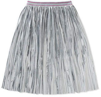 Kate Spade Crinkled Metallic Skirt