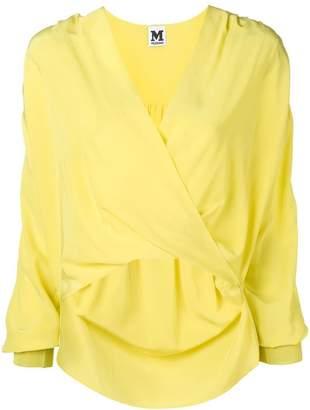 M Missoni V-neck wrap blouse