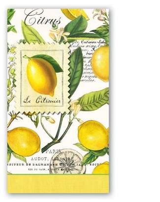 Michel Design Works Lemon/basil Hostess Napkin
