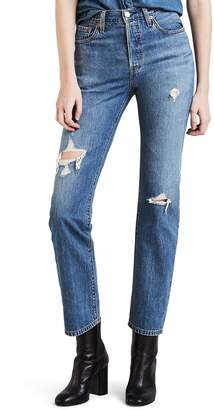 Levi's Levis Women's 501 High Rise Skinny Jeans