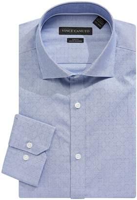 Vince Camuto Slim Fit Cotton Sateen Dress Shirt