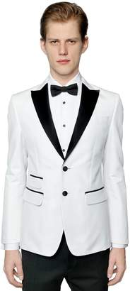 DSQUARED2 London Cotton Blend Tuxedo Jacket