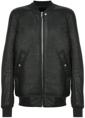 Rick Owens RU18F1785LSHY BLACK Leather/Fur/Exotic Skins->Calf Leather
