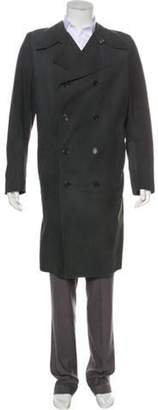 Carol Christian Poell Leather Double-Breasted Coat black Carol Christian Poell Leather Double-Breasted Coat