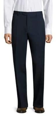 Santorelli Platinum Super 130's Regular-Fit Gabardine Trousers
