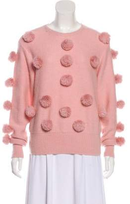 Alice McCall Embellished Crew Neck Sweater