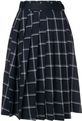 Fila pleated skirt