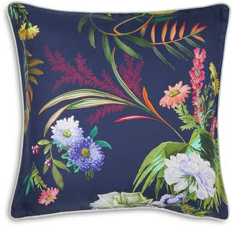 Yves Delorme Bouquets Decorative Pillow, 17 x 17