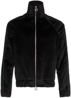 Prevu grove court velour track jacket