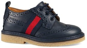 Infant Boy's Gucci 'Darby' Oxford $375 thestylecure.com