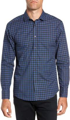 Vince Camuto Long Sleeve Check & Dobby Sport Shirt