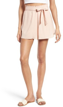 Women's Leith Smock Waist Shorts $59 thestylecure.com