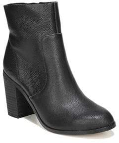 Dr. Scholl's Zippered Leather Booties