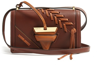 Barcelona small leather cross-body bag