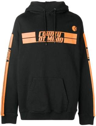 Marcelo Burlon County of Milan Stripes County hoodie