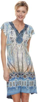 Apt. 9 Women's Medallion High-Low Shift Dress