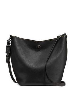 Coach 1941 Duffel Leather Bucket Bag, Black