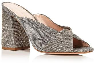 Loeffler Randall Women's Laurel Knotted Glitter High-Heel Sandals