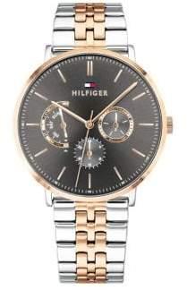 Tommy Hilfiger Dane Titanium Two-Tone Stainless Steel Bracelet Watch