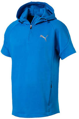Puma Evo Stripe Lite Knit Hooded Top