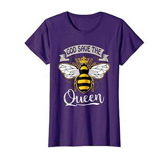 Womens God Save The Queen Bee T-Shirt