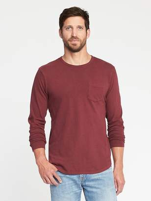 Old Navy Garment-Dyed Crew-Neck Tee for Men