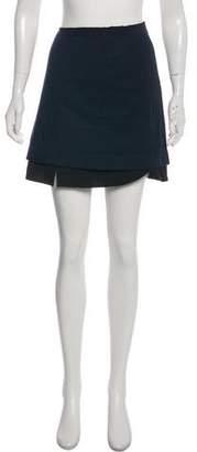 Prada Accented Mini Skirt