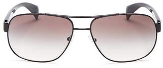 Prada Pilot Aviator Sunglasses, 61mm $300 thestylecure.com