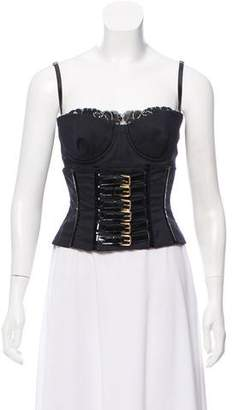 Dolce & Gabbana Lace Sweetheart Bustier Top w/ Tags