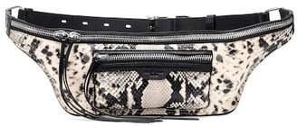 Rag & Bone Elliot embossed leather belt bag