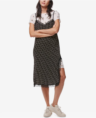 Free People Margot Layered Slip Dress $128 thestylecure.com