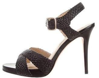 Diane von Furstenberg Woven Leather Sandals