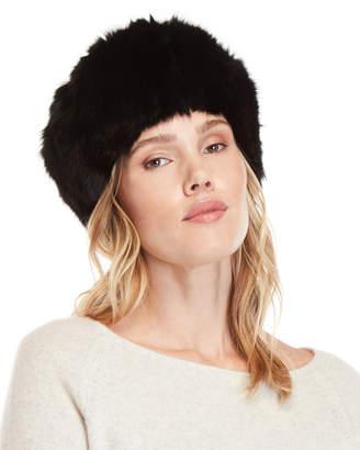 Adrienne Landau Real Fur Hat