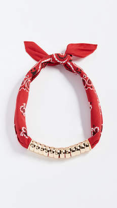 Lee Holst + Bandana Necklace