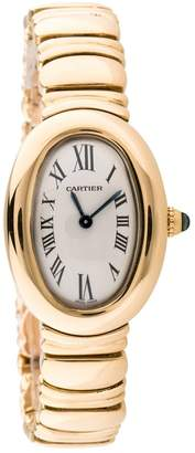 Cartier Vintage Baignoire Yellow Yellow gold Watches