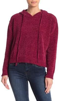 Cotton Emporium Chenille Pullover Sweater Hoodie