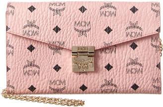 MCM Stark Large Visetos Wallet On Chain