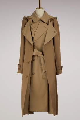 Maison Margiela Double Cotton Trench Coat