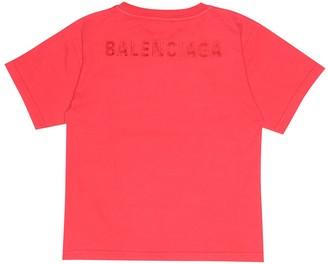 Balenciaga Kids Logo cotton T-shirt