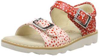 666146657f41 Clarks Girls  Crown Bloom T Sling Back Sandals