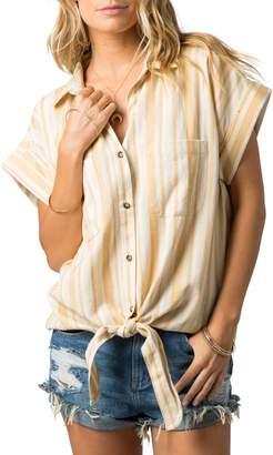 Rip Curl Island Time Tie Hem Shirt