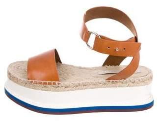 Stella McCartney Vegan Flatform Sandals