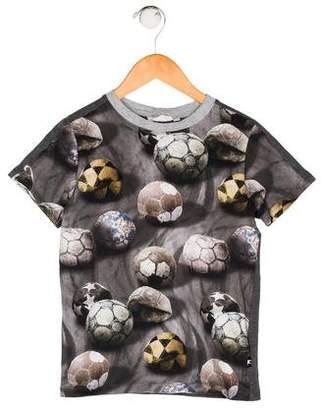 Molo Boys' Graphic Print Shirt