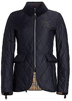 Burberry Women's Ongra Quilted Short Equestrian Jacket