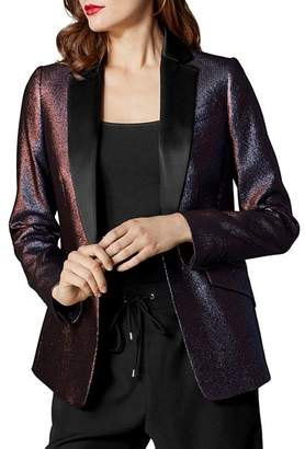 Karen Millen Metallic Tailored Blazer