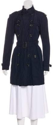 Burberry Double-Breasted Short Coat