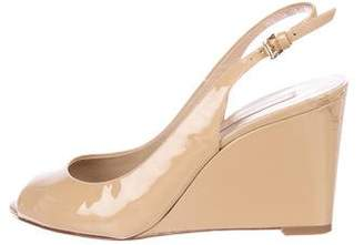 Michael Kors Patent Leather Wedges