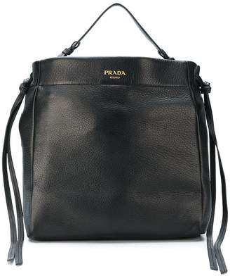 Prada tie-side hobo bag